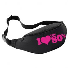 I Love The 80's Bum Bag